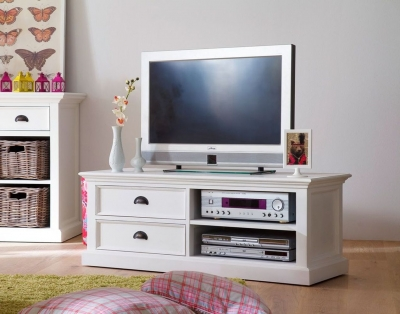 Nova Solo Halifax White Entertainment Unit