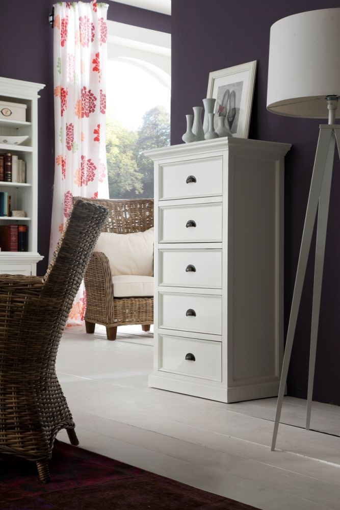 Nova Solo Halifax White Chest Of Drawer
