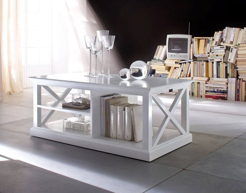 Nova Solo Halifax White Coffee Table