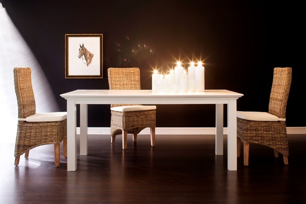 Nova Solo Halifax White Dining Table