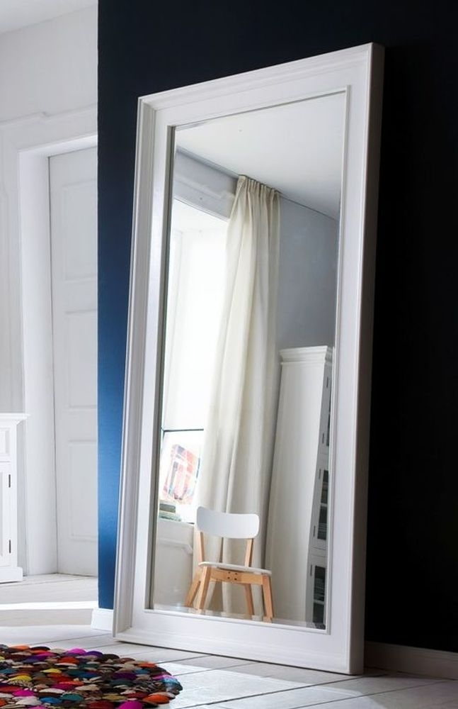 Nova Solo Halifax White Grand Mirror - 200cm x 100cm