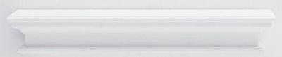 Nova Solo Halifax White Painted Medium Floating Wall Shelf