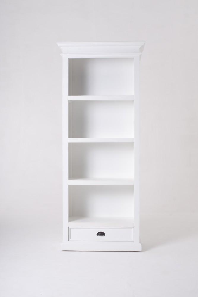 Nova Solo Halifax White Painted Bookcase