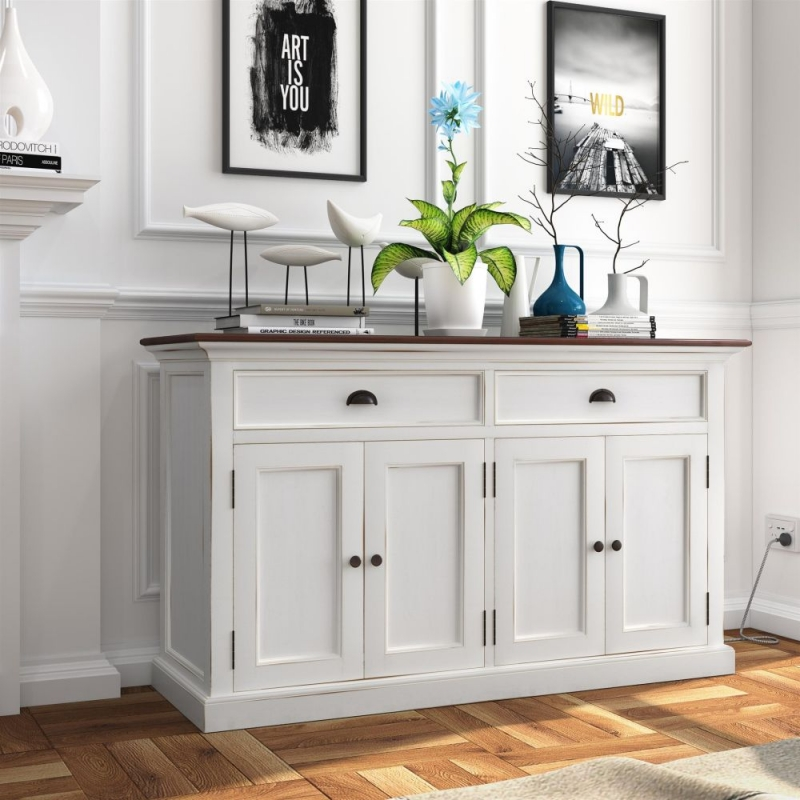 Nova Solo Halifax White Painted Accent Buffet