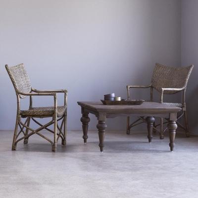 Nova Solo Hygge Reclaimed Wood Square Coffee Table