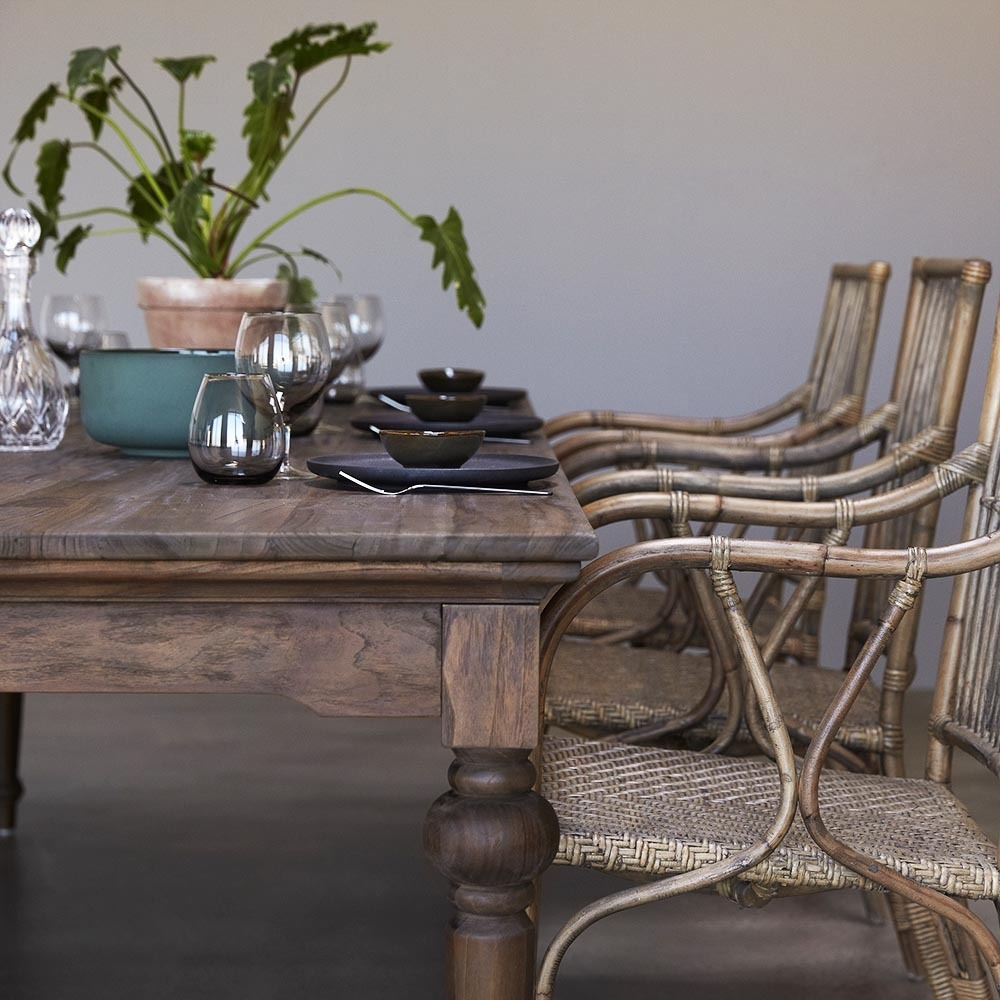 Nova Solo Hygge Reclaimed Wood Dining Table - 260cm