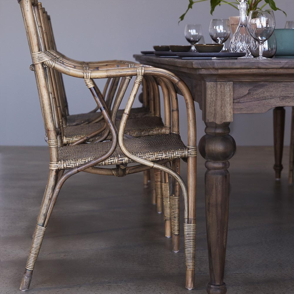 Nova Solo Hygge Reclaimed Wood Dining Table - 280cm