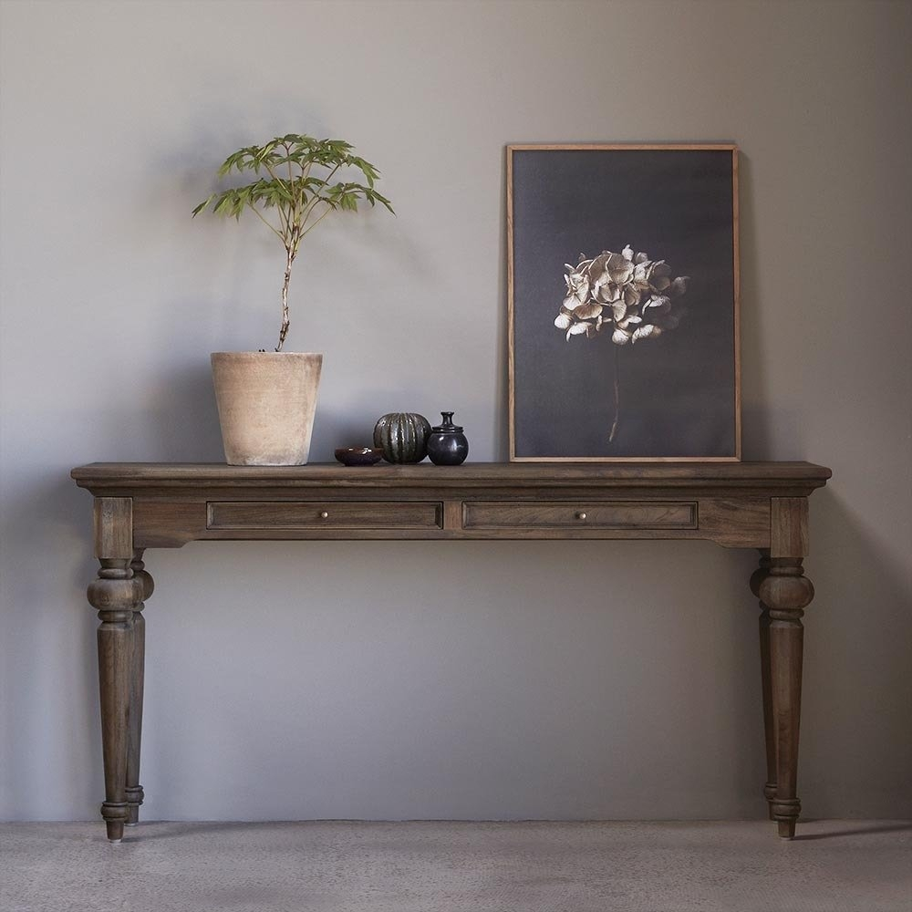 Nova Solo Hygge Reclaimed Wood Large Console Table
