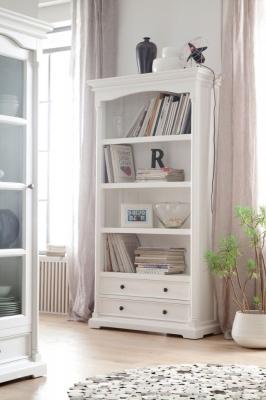 Nova Solo Provence White Bookcase