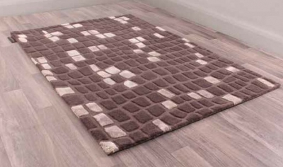 Unique Matrix Handmade Wool Rug