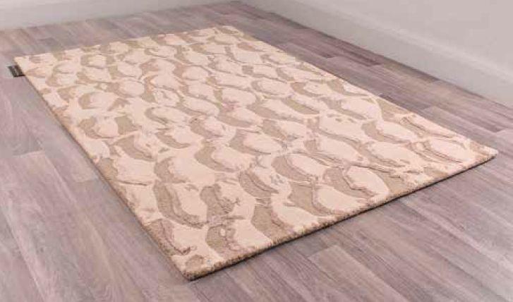 Unique Estuary Handmade Wool Rug