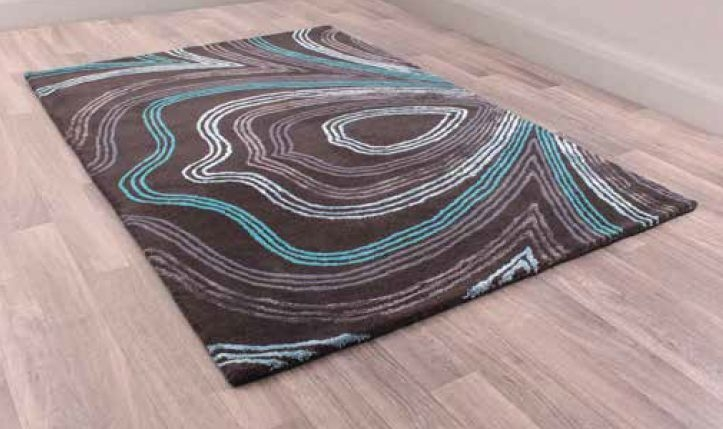 Unique Retro Handmade Wool Rug