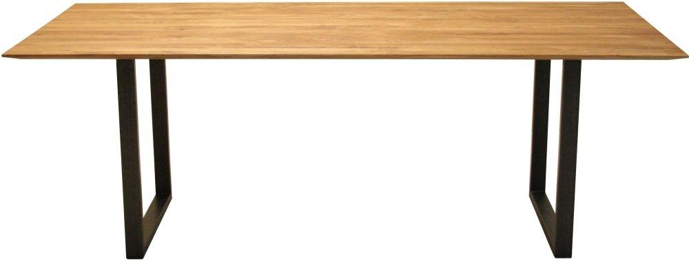 Qualita Fargo Life Oiled Oak Dining Table - 180cm x 90cm