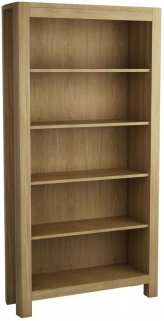 Qualita Goliath Oak Shelving Unit - Tall