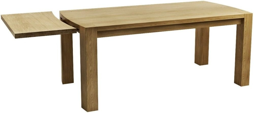 Qualita Goliath Oak Dining Table - 150cm Extending