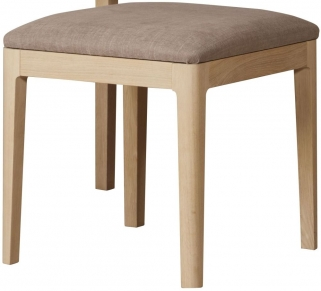 Qualita Hudson Oak Stool