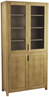 Qualita Sims Oak Bookcase
