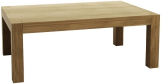 Qualita Sims Oak Coffee Table - No 3