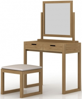 Qualita Sims Oak Dressing Set