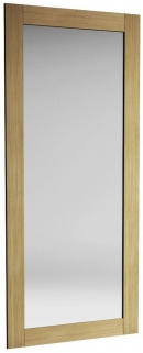 Qualita Sims Oak Mirror