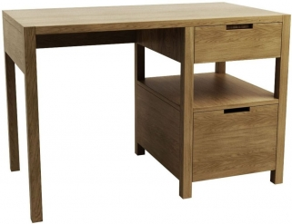 Qualita Sims Oak Writing Desk