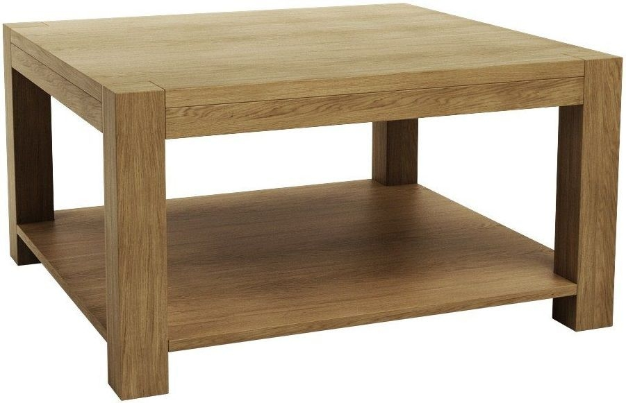Qualita Sims Oak Coffee Table - No 2
