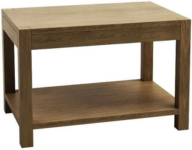 Qualita Sims Oak Coffee Table - No 4
