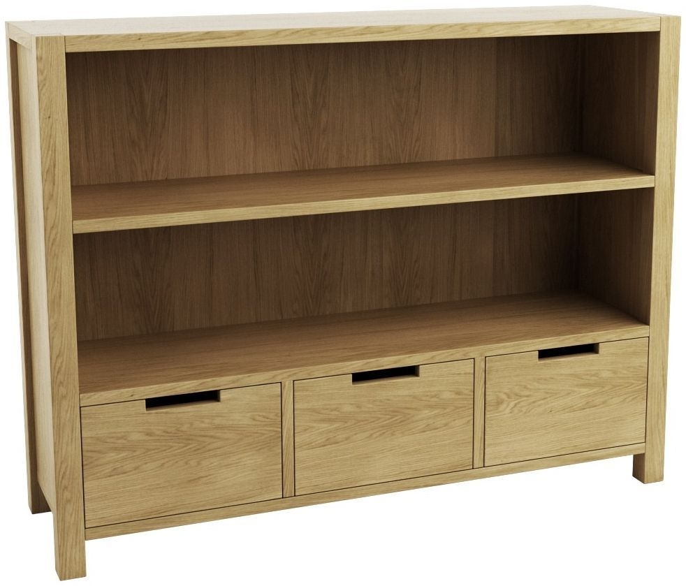 Qualita Sims Oak Display Unit