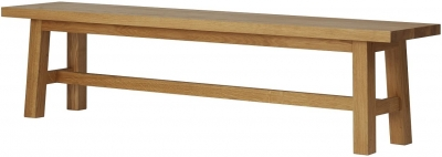 Qualita Trinity Oak Bench