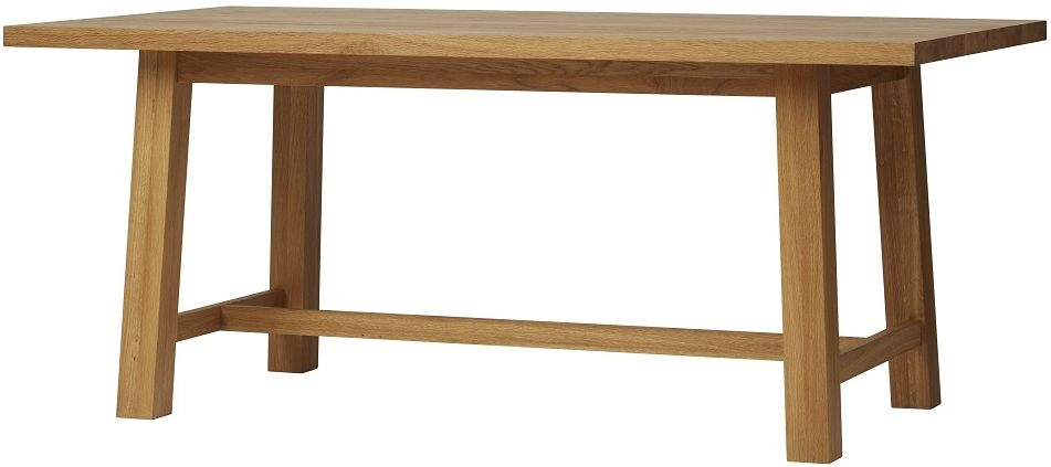 Qualita Trinity Oak Dining Table