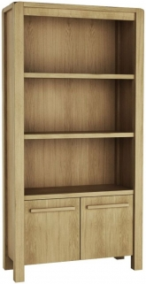 Qualita Vermont Oak Shelving Unit