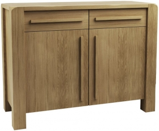 Qualita Vermont Oak Sideboard - 2 Door