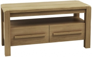 Qualita Vermont Oak TV Unit