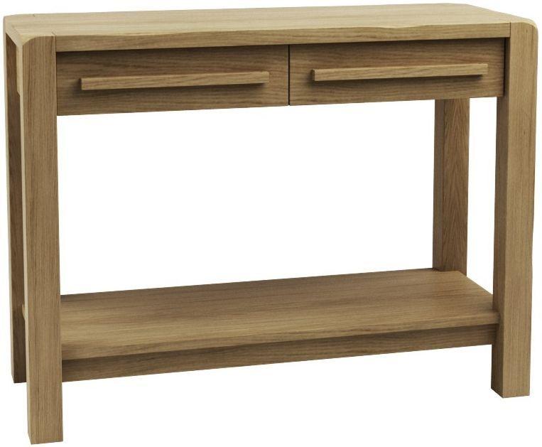 Qualita Vermont Oak Console Table