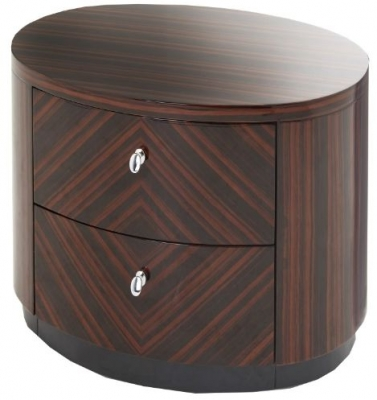 RV Astley Lymn Bedside Cabinet with 2 Drawers