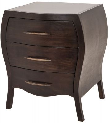 RV Astley Varese Bedside Table - 3 Drawer