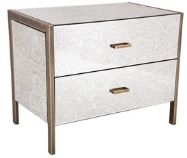 RV Astley Bedside Cabinet Large - 2 Drawer