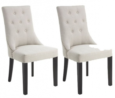 RV Astley Addie Natural Dining Chair (Pair)
