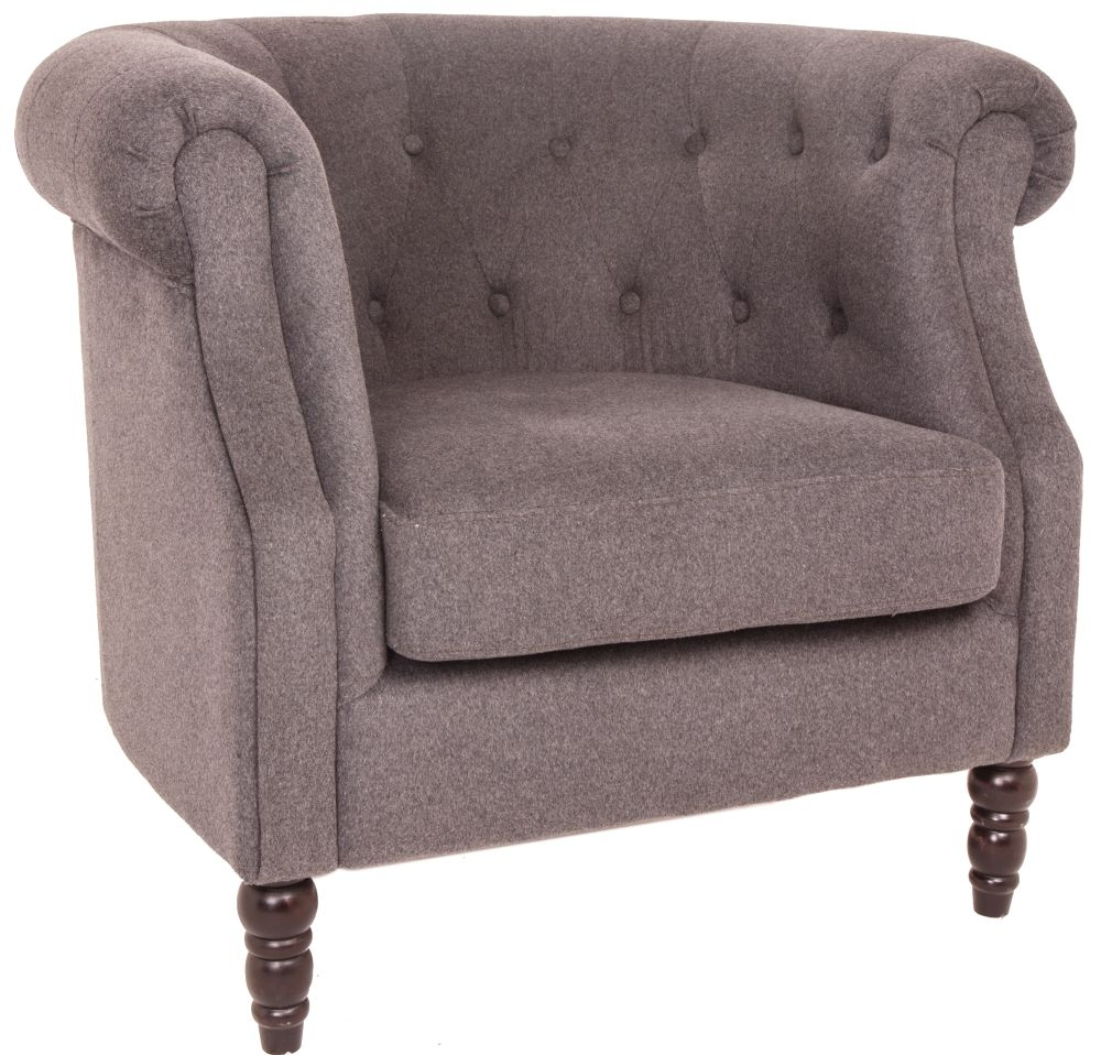 RV Astley Alda Grey Occasional Chair