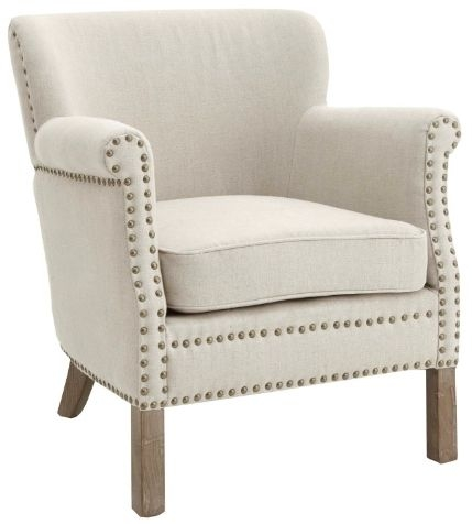 RV Astley Fae Natural Linen Armchair