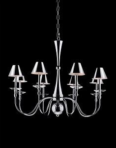 RV Astley 8 Branch Chandelier