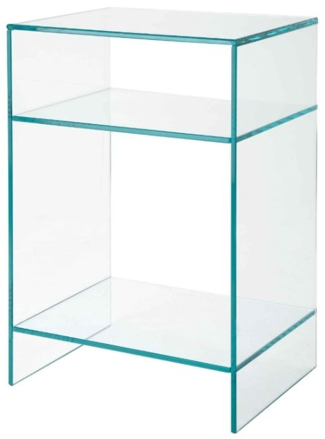 RV Astley Glass Side Table