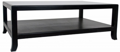 RV Astley Black Coffee Table