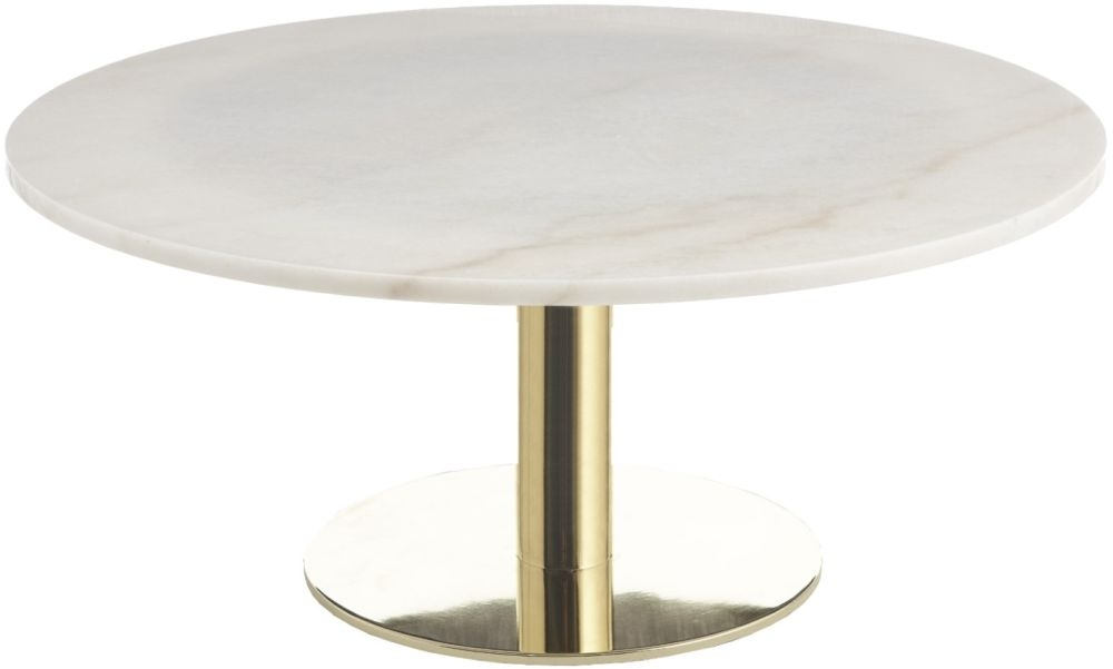 RV Astley Dane Gold Coffee Table