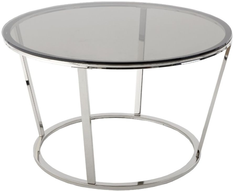 RV Astley Mavis Nickel Coffee Table
