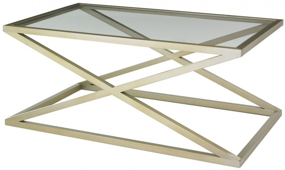 RV Astley Nico Champagne Coffee Table