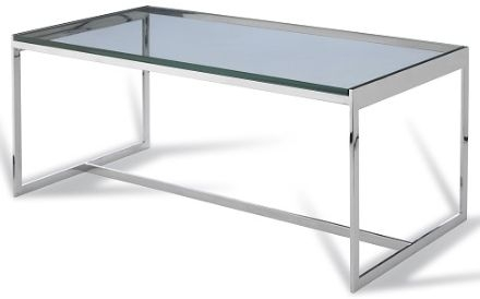 RV Astley Radcot Coffee Table in Stainless Steel