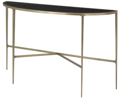 RV Astley Adare Half Moon Console Table
