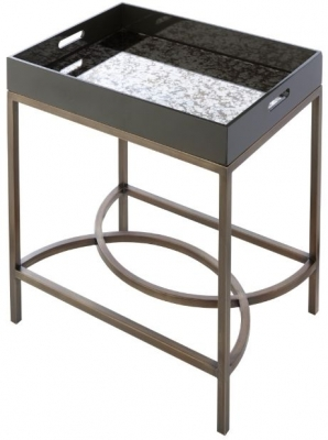 RV Astley Baron Mirrored Tray Table