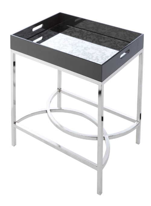 RV Astley Baron Mirrored Top Tray Table